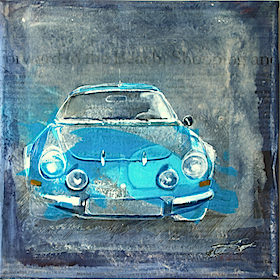 N° 105 Renault<span>Alpine A110</span>