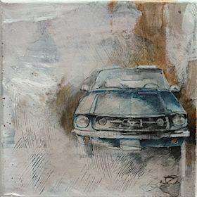 N° 72 Ford<span>Mustang Convertible</span>